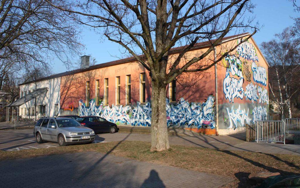 Haus der Jugend Heidelberg - Vorderansicht