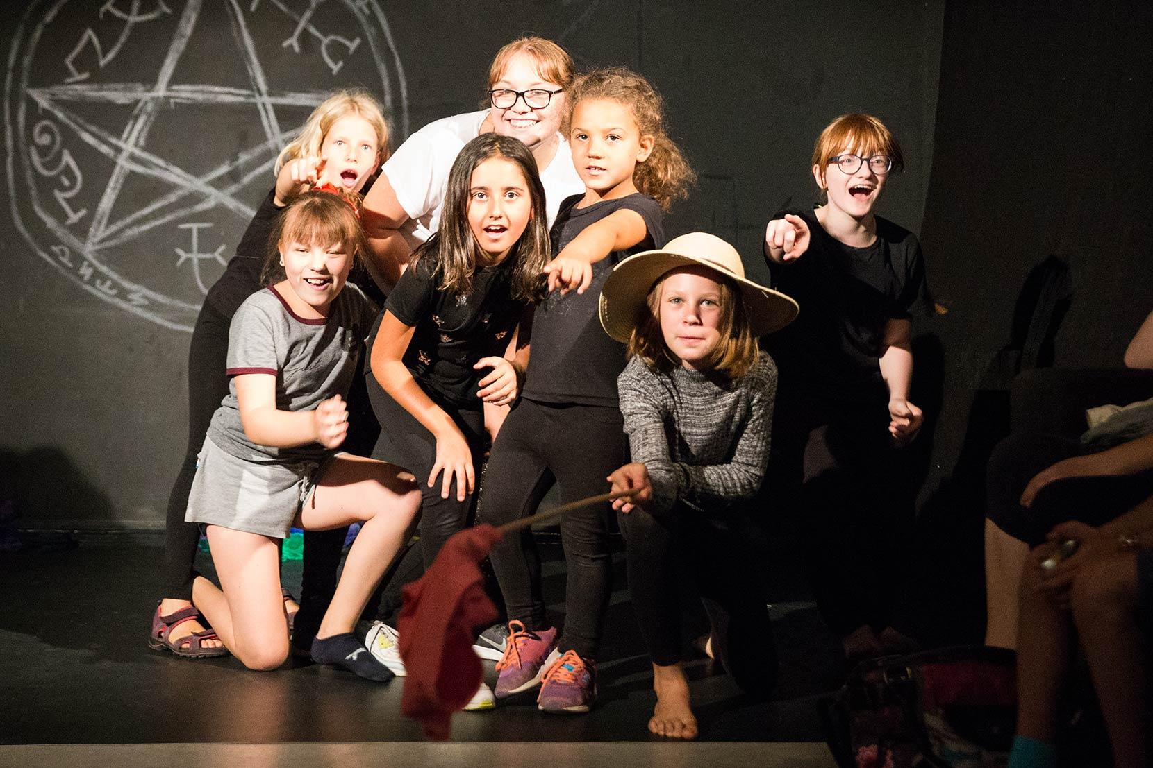 Kindertheatergruppe 2017