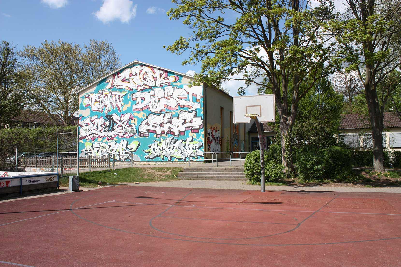 Haus der Jugend Heidelberg - Ansicht aus Süden