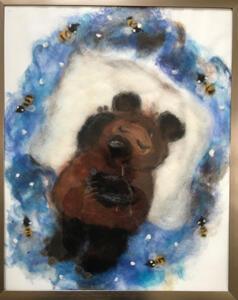 Teddybär aus Märchenwolle
